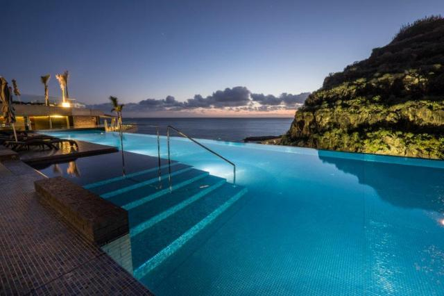 savoy swimming pool and view