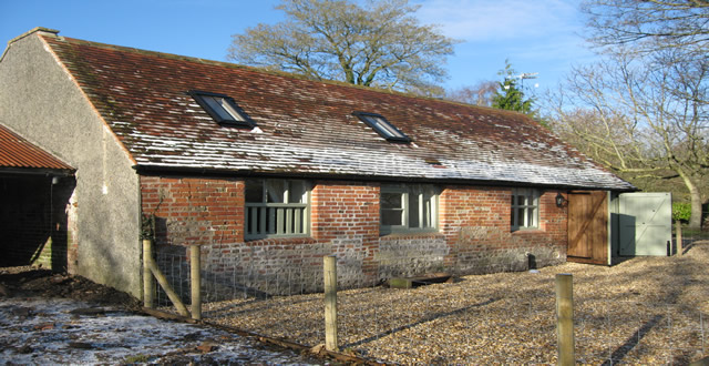 the old stable outside view