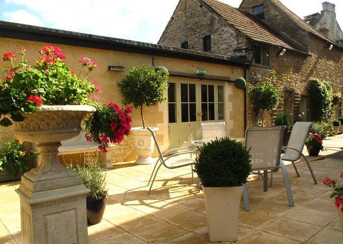 the ormond courtyard