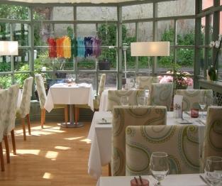 Felin Newydd House dining area