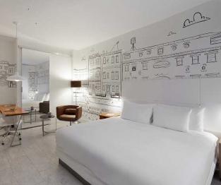nu hotel bedroom
