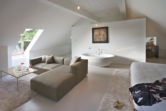 Tuddenham mill living area