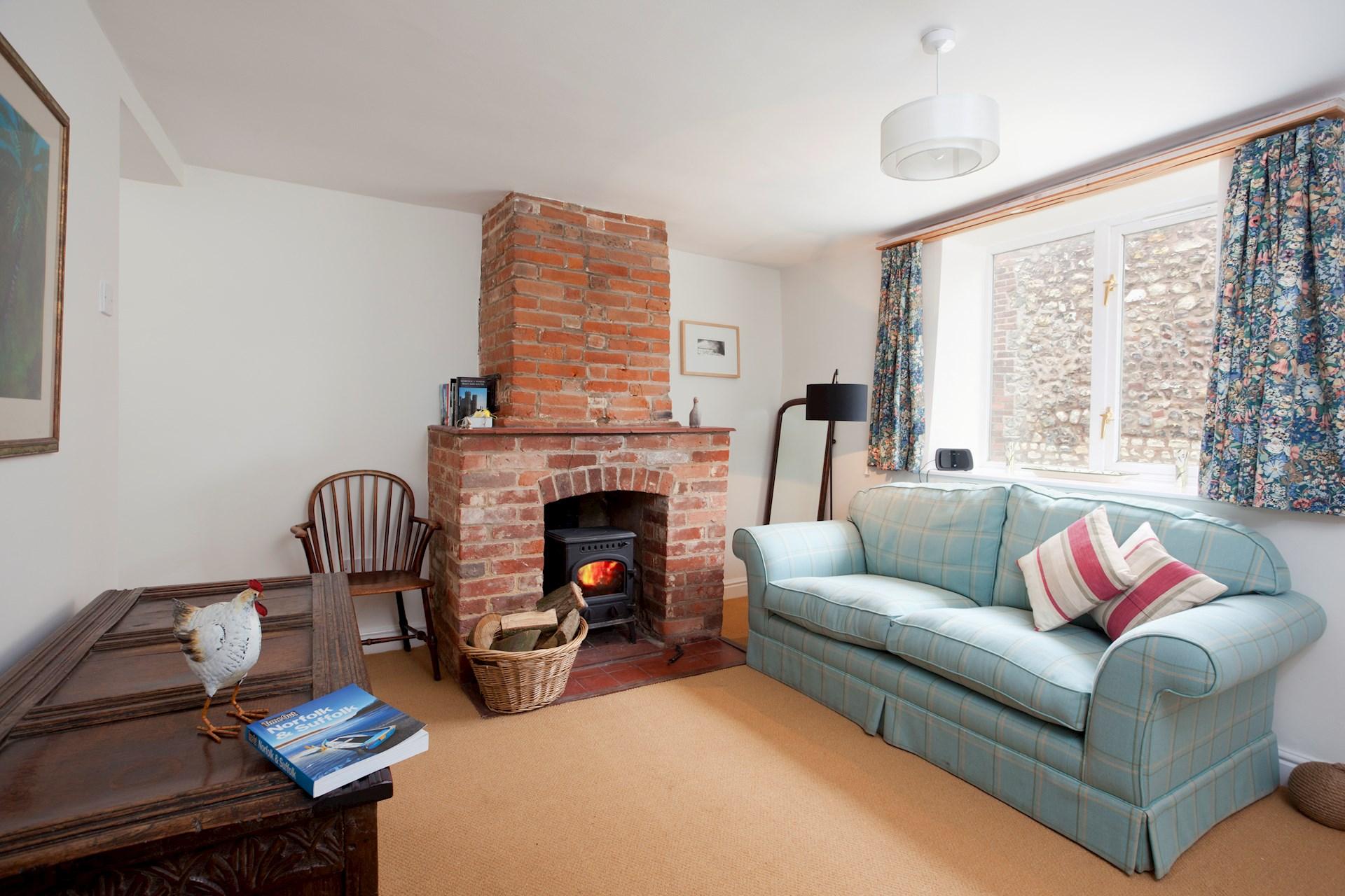 fern cottage living area