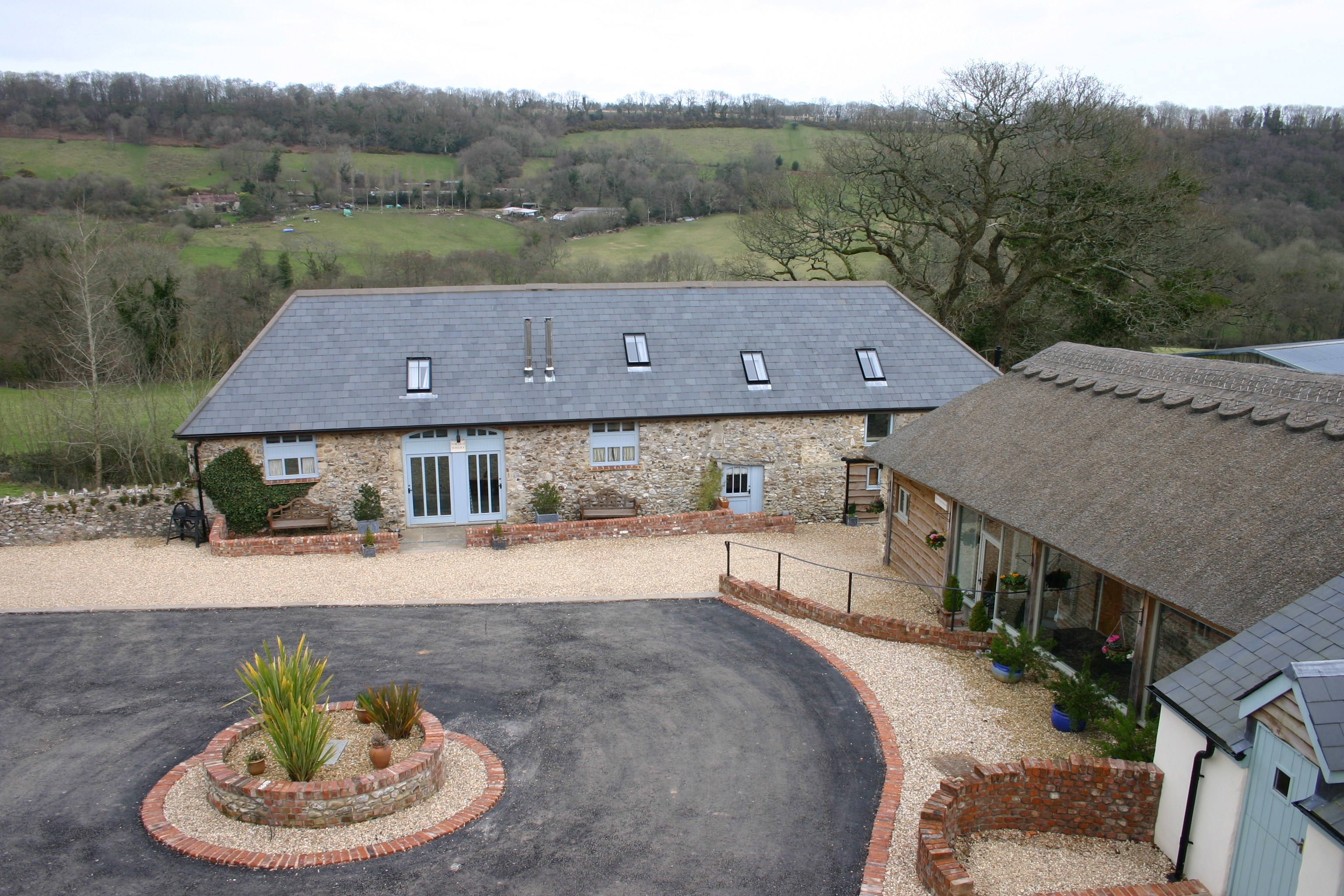 Higher Wiscombe Farm outside view
