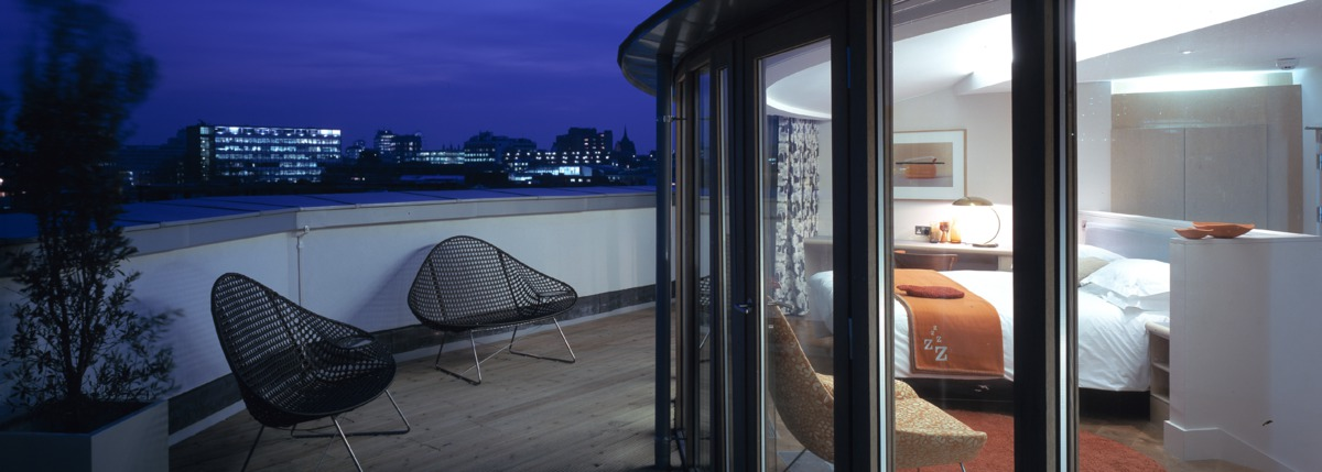 Zetter hotel balcony view