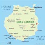 map of gran canaria