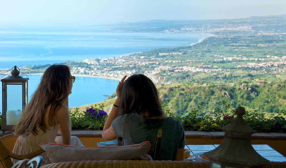 hotel villa ducale view
