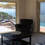 villa louloudia view from living area