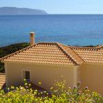 villa louloudia view to sea