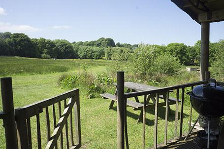 berridon farm decking picnic area