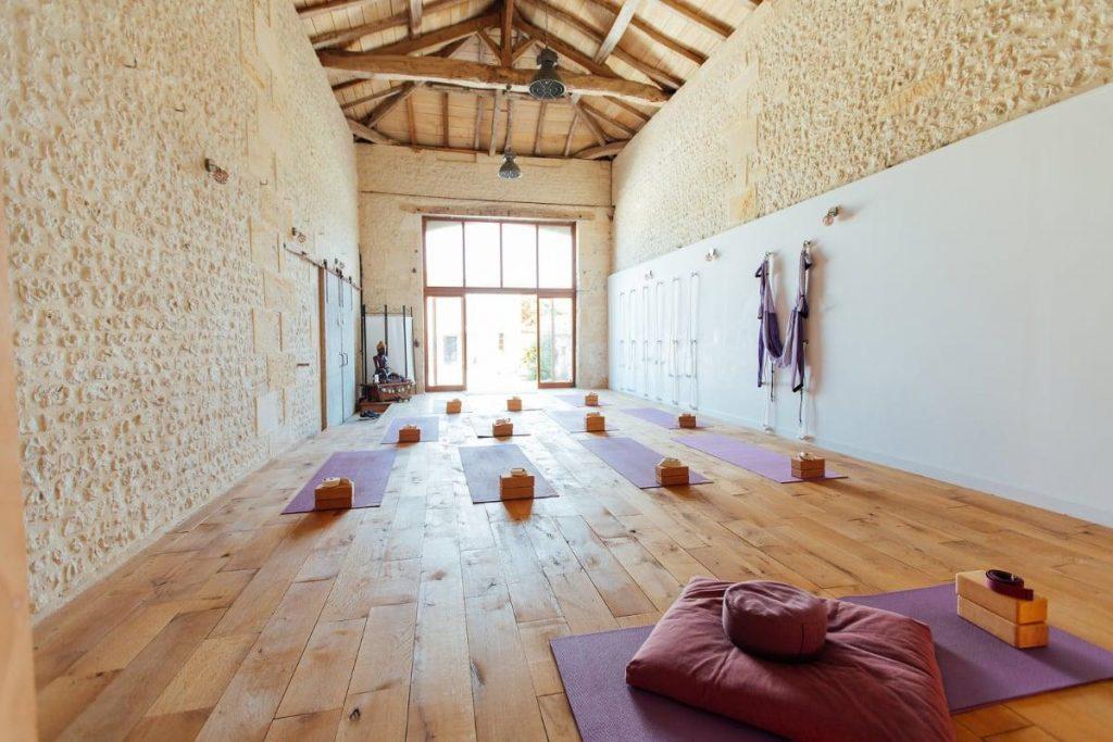 praana wellness yoga room