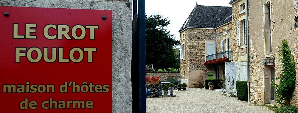 Le Crot Foulot entance