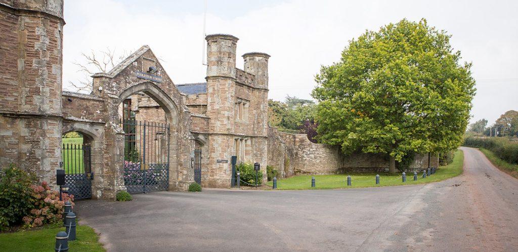 pudleston court entrance